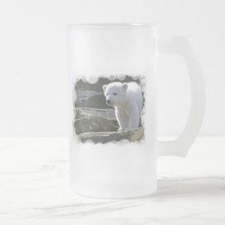 Baby Polar Bear Beer Mug