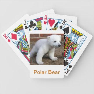 Baby Polar Bear Cub Playing Cards