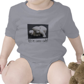 baby polar bear, flocke, We're soooo cute! T-shirts
