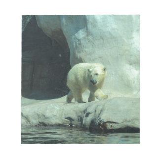 Baby Polar Bear Note Pad