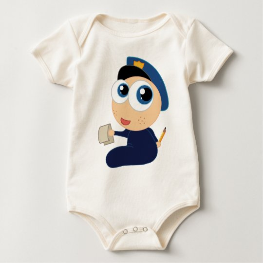 Baby Police Officer Infant Clothing Baby Bodysuit