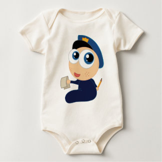 Baby Police Officer Infant Clothing Rompers