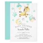 Baby Pony Mobile Neutral Baby Shower Invitation