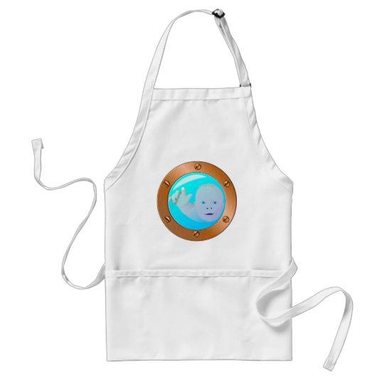 baby porthole adult apron