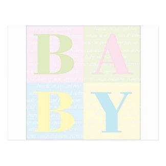 Baby Postcard