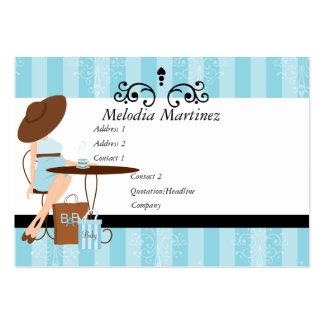 Baby Powder Large Business Card