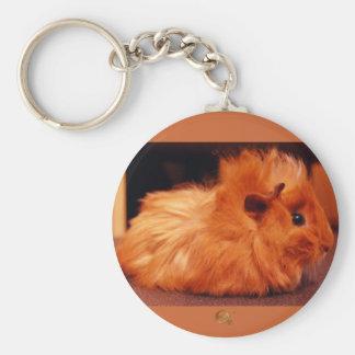 Baby Powder Puff - Guinea Pig Key Chains