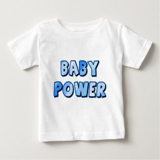 BABY POWER in Blue Baby T-Shirt