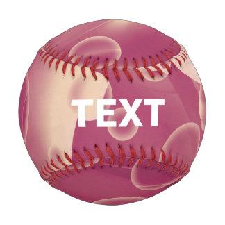 Baby Power Pink Circle Abstract Baseball