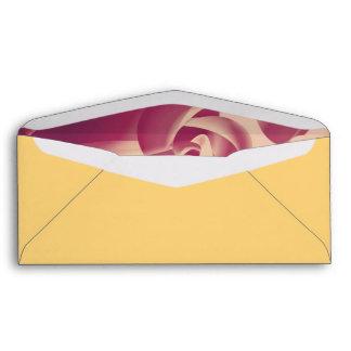 Baby Power Pink Circle Abstract Envelope