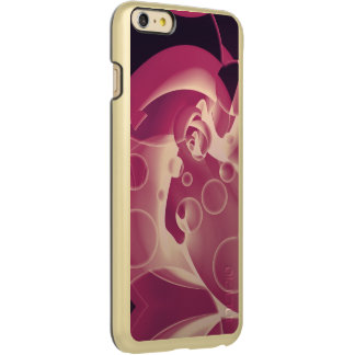 Baby Power Pink Circle Abstract Incipio Feather® Shine iPhone 6 Plus Case