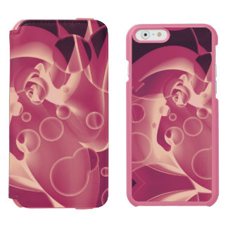 Baby Power Pink Circle Abstract iPhone 6/6s Wallet Case