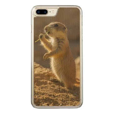 USA Themed Baby prairie dog eating, Arizona Carved iPhone 8 Plus/7 Plus Case