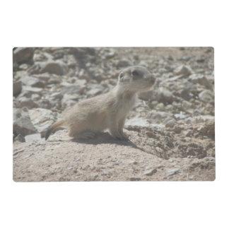 Baby Prairie Dog Laminated Place Mat