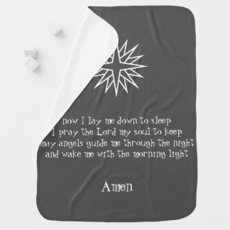 baby prayer blanket