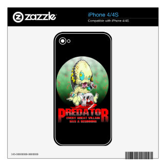 BABY PRED iPhone 4S DECAL