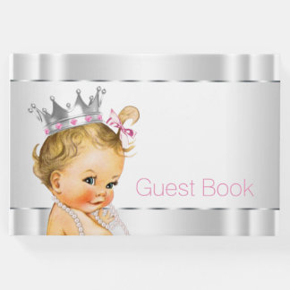 Baby Princess Baby Shower Guest Book