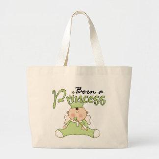 Baby Princess Green Tshirts and Gifts Bag
