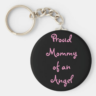 baby, Proud mommy of an Angel Keychain