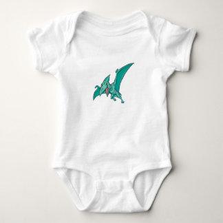Baby Pterodactyl dinosaur Baby Bodysuit