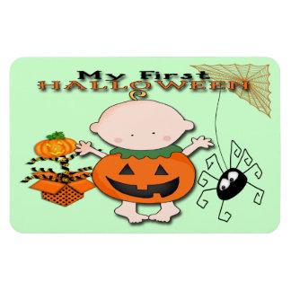 Baby Pumpkin My 1st Halloween Flex Magnets