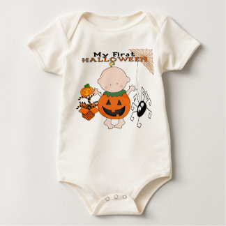 Baby Pumpkin My 1st Halloween Infant Organic Creep Romper
