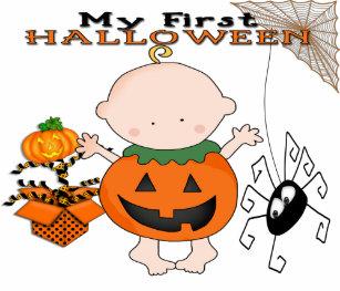 baby pumpkin my 1st halloween infant t shirt