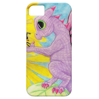 Baby Purple Pink Dragon Fairy Bee Friend Daisy iPhone SE/5/5s Case