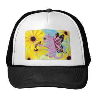 Baby Purple Pink Dragon Fairy Bee Friend Daisy Trucker Hat