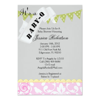Baby Q Bar-B-Q Shower, Cute Card