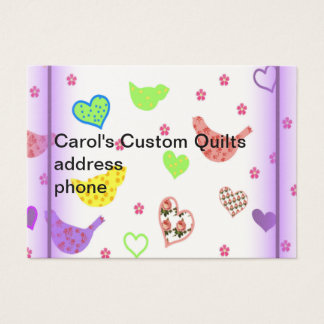 Baby Quilt Business Card