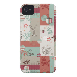 Baby Quilt Pattern 2 iPhone 4 Case-Mate Cases