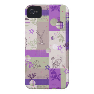 Baby Quilt Pattern iPhone 4 Cases