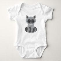 Baby Raccoon Baby Bodysuit