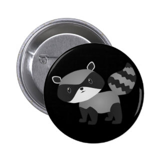 Baby Raccoon Button