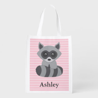 Baby Raccoon Grocery Bags