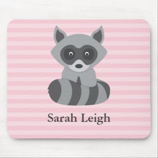 Baby Raccoon Mouse Pad