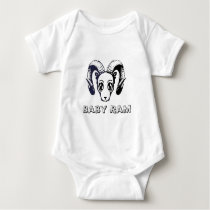 Baby Ram : The Ram Collection Baby Bodysuit