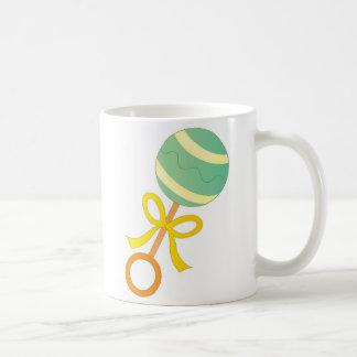 Baby Rattle Classic White Coffee Mug