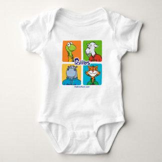 "Baby ""Rattles Baby Bodysuit"