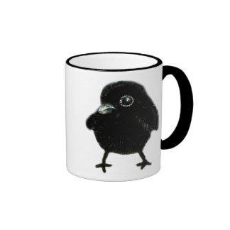 Baby raven ringer mug