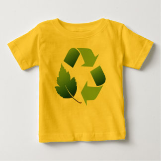 baby recycle shirt. baby T-Shirt