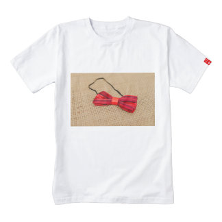 Baby red bow tie zazzle HEART T-Shirt
