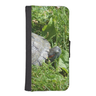Baby Red Eared Slider Turtle Phone Wallets