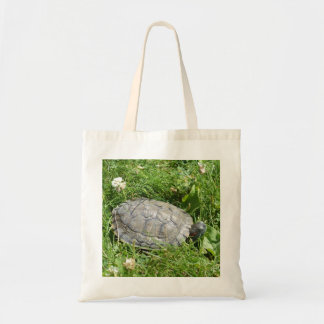 Baby Red Eared Slider Turtle Tote Bag