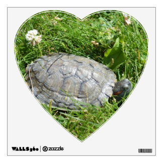 Baby Red Eared Slider Turtle Wall Sticker