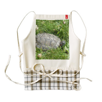 Baby Red Eared Slider Turtle Zazzle HEART Apron