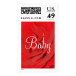 Baby Red Rose Postage - Customizable