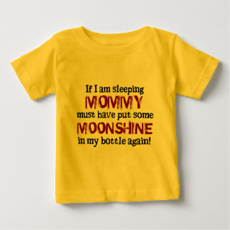 Baby Redneck Moonshine in the Bottle Baby T-Shirt