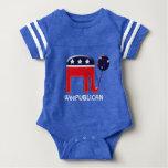 Baby Republican elephant balloon Shirt
